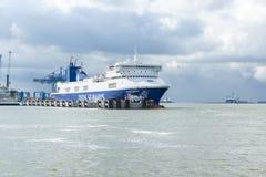 Ο θαλάσσιος λιμένας φορτίου σε Klaipeda Στοκ εικόνες με δικαίωμα ελεύθερης χρήσης