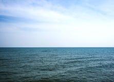 Ο θαλάσσιος ορίζοντας Στοκ εικόνες με δικαίωμα ελεύθερης χρήσης