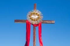 Ο θείος σταυρός πνευμάτων Στοκ φωτογραφία με δικαίωμα ελεύθερης χρήσης