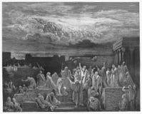 Ο θεϊκός στρατός Στοκ Εικόνες