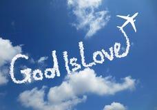 Ο Θεός είναι αγάπη Στοκ φωτογραφία με δικαίωμα ελεύθερης χρήσης