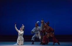 """Ο Θεός της ιατρική-πέμπτης πράξης κλέβει αθάνατος-Kunqu Opera""""Madame άσπρο Snake† Στοκ εικόνα με δικαίωμα ελεύθερης χρήσης"""