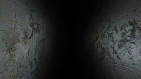 Ο θλιβερός διάδρομος Σκοτεινός και θλιβερός, πλήρης των μυστηρίων, ο διάδρομος 41 στοκ εικόνες