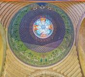 Ο θόλος του αρμενικού καθεδρικού ναού Στοκ φωτογραφία με δικαίωμα ελεύθερης χρήσης
