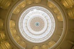 Ο θόλος του Τέξας Capitol Στοκ Εικόνες