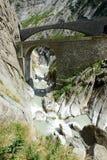 ο διάβολος γεφυρών gotthard περνά το s ST στοκ φωτογραφία με δικαίωμα ελεύθερης χρήσης