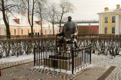 Ο διάσημοι Peter και το φρούριο του Paul Στοκ Φωτογραφία
