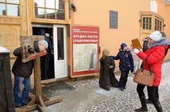 Ο διάσημοι Peter και το φρούριο του Paul Στοκ φωτογραφίες με δικαίωμα ελεύθερης χρήσης