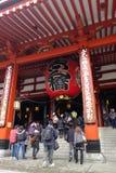 Ο διάσημος ναός Senso ji στην Ιαπωνία Στοκ φωτογραφία με δικαίωμα ελεύθερης χρήσης