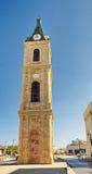 Ο διάσημος πύργος ρολογιών Jaffa Στοκ φωτογραφία με δικαίωμα ελεύθερης χρήσης