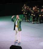 Ο διάσημος τραγουδιστής Xinjiang Karim-TheFamous και classicconcert Στοκ φωτογραφία με δικαίωμα ελεύθερης χρήσης