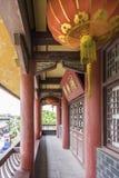 Ο διάδρομος έξω από τον πύργο Wangyue (πύργος φεγγαριών) Στοκ εικόνες με δικαίωμα ελεύθερης χρήσης