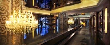 Ο διάδρομος του ξενοδοχείου Στοκ φωτογραφία με δικαίωμα ελεύθερης χρήσης