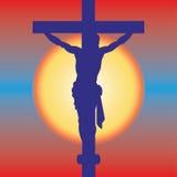 ο διαγώνιος Ιησούς απεικόνιση αποθεμάτων