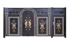 Ο διακοσμητικοί Γκέιτς και πόρτες. στοκ φωτογραφίες με δικαίωμα ελεύθερης χρήσης