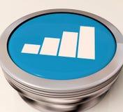 Ο διακόπτης γραφικών παραστάσεων σημαίνει την ανάλυση στοιχείων ή τις στατιστικές απεικόνιση αποθεμάτων