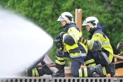 2$ο διεθνές φεστιβάλ πυροσβεστών, Ίντερλεικεν Στοκ φωτογραφία με δικαίωμα ελεύθερης χρήσης