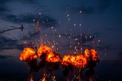 Ο διεθνής αέρας του Βουκουρεστι'ου παρουσιάζει - Jurgis Kairys Στοκ εικόνες με δικαίωμα ελεύθερης χρήσης