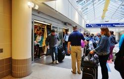 Ο διεθνής αερολιμένας Μινεάπολη-Αγίου Paul (MSP) στοκ φωτογραφία