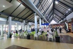 Ο διεθνής αερολιμένας σε Siem συγκεντρώνει Στοκ Εικόνες