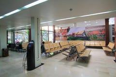 Ο διεθνής αερολιμένας σε Siem συγκεντρώνει Στοκ φωτογραφία με δικαίωμα ελεύθερης χρήσης