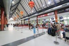 Ο διεθνής αερολιμένας της Καμπότζης Siem συγκεντρώνει Στοκ Εικόνες