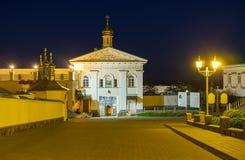 Ο ιερός Γκέιτς Pochaev Lavra Στοκ Φωτογραφία
