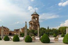 Ο ιερός καθεδρικός ναός τριάδας του Tbilisi Στοκ φωτογραφίες με δικαίωμα ελεύθερης χρήσης