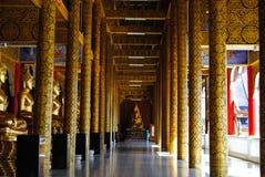 Ο ιερός ναός, η τέλεια θέση στο meditate Στοκ Εικόνες