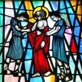 Ο Ιησούς είναι γδυμένος δικοί του στοκ εικόνα με δικαίωμα ελεύθερης χρήσης