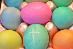 Ο Ιησούς είναι ο λόγος για την εποχή των διακοπών Πάσχας στοκ εικόνες