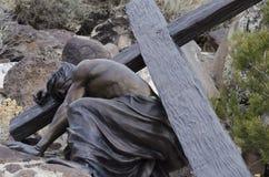 Ο Ιησούς πέθανε για μας Στοκ φωτογραφία με δικαίωμα ελεύθερης χρήσης