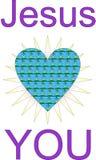 ο Ιησούς σας αγαπά Στοκ εικόνες με δικαίωμα ελεύθερης χρήσης