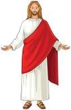 Ο Ιησούς Χριστός αναφέρθηκε επίσης ως Ιησούς της Ναζαρέτ Στοκ φωτογραφίες με δικαίωμα ελεύθερης χρήσης