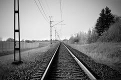 Οδικές διαδρομές ραγών Στοκ φωτογραφία με δικαίωμα ελεύθερης χρήσης
