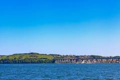 Οδική γέφυρα Tay, Dundee, Σκωτία στοκ φωτογραφία με δικαίωμα ελεύθερης χρήσης