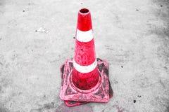 οδική καθορισμένη κυκλοφορία περιφράξεων κώνων χρώματος Στοκ εικόνες με δικαίωμα ελεύθερης χρήσης