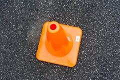 οδική καθορισμένη κυκλοφορία περιφράξεων κώνων χρώματος Στοκ φωτογραφίες με δικαίωμα ελεύθερης χρήσης