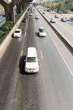 οδική κυκλοφορία μαρμελάδας αυτοκινήτων Στοκ φωτογραφία με δικαίωμα ελεύθερης χρήσης
