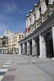 Οδική τοπίο της Μαδρίτης Στοκ φωτογραφία με δικαίωμα ελεύθερης χρήσης