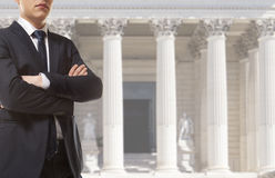 Ο δικηγόρος Στοκ εικόνα με δικαίωμα ελεύθερης χρήσης