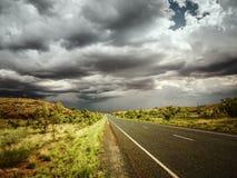 Οδικός άσχημος καιρός στοκ φωτογραφία με δικαίωμα ελεύθερης χρήσης