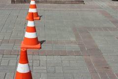 Οδικός κώνος Στοκ φωτογραφίες με δικαίωμα ελεύθερης χρήσης