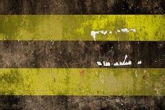 Οδικός χαρακτηρισμός - διπλός κίτρινος δρόμος γραμμών Στοκ εικόνα με δικαίωμα ελεύθερης χρήσης