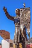 Οδικό άδυτο ελευθερίας αγαλμάτων Hidalgo του Ιησού Atotonilco Μεξικό Στοκ φωτογραφίες με δικαίωμα ελεύθερης χρήσης