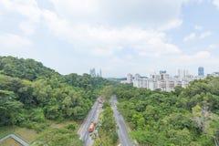 Οδικό πάρκο στη Σιγκαπούρη Στοκ φωτογραφίες με δικαίωμα ελεύθερης χρήσης