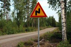 Οδικό σημάδι Στοκ εικόνα με δικαίωμα ελεύθερης χρήσης