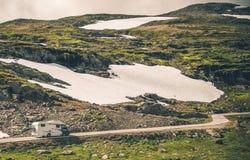 Οδικό ταξίδι Motorcoach rv Στοκ εικόνα με δικαίωμα ελεύθερης χρήσης
