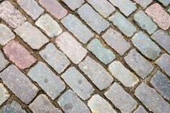 Οδικό τεμάχιο τούβλου Στοκ Εικόνες