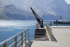 Ο λιμένας Puerto de Las Nieves, θλγραν θλθαναρηα Στοκ Φωτογραφίες